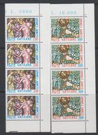 Vatican City 1980 Omnes Sancti 2v Strip Of 4 ** Mnh (42716B) - Ongebruikt