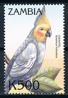 Timbre Stamp Oiseaux Perroquet Toucans Parrot  Neuf MNH ** Zambie Zambia 2000 - Perroquets & Tropicaux
