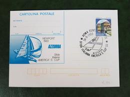 (38190) STORIA POSTALE ITALIA 1983 - 1946-.. République