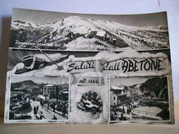 1957 - Pistoia - Saluti Dall' Abetone - Vedute - Piazza E Passo Delle Piramidi - Monte Gomito - Saluti Da.../ Gruss Aus...