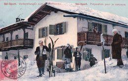 Sport D'Hiver, Préparation Pour Le Concours De Ski (3573) - Sports D'hiver