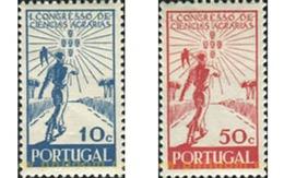 Ref. 125297 * MNH * - PORTUGAL. 1943. 1 CONGRESO DE CIENCIAS AGRARIAS, EN LISBOA - 1910-... République