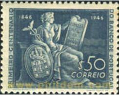 Ref. 125328 * MNH * - PORTUGAL. 1946. CENTENARIO DE LA BANCA DE PORTUGAL - 1910-... République