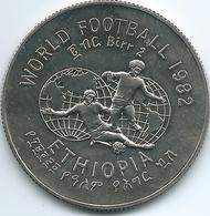 Ethiopia - 1982 - 2 Birr - Football World Cup - KM64 (Ethiopian Year 1974 - ፲፱፻፸፬) - Ethiopia