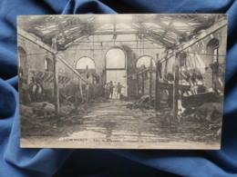 Guerre 1914  Commercy  Abri De Chevaux Lendemain De Bombardement - R288 - War 1914-18