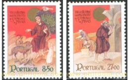 Ref. 125787 * MNH * - PORTUGAL. 1982. 800th ANNIVERSARY OF THE BIRTH OF ST. FRANCIS OF ASSISI . 800 ANIVERSARIO DEL NACI - 1910-... Republic