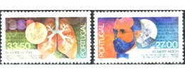 Ref. 125803 * MNH * - PORTUGAL. 1982. CENTENARY OF THE DISCOVERY OF TUBERCULOSIS BACILLUS BY ROBERT KOCH . CENTENARIO DE - 1910-... Republic