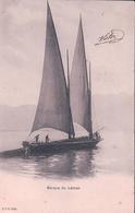Barque à Voiles Du Léman Pour Le Transport (cpn 1939) - Alpinisme