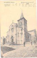FRANCE - CP  SAINT AGREVE - L'EGLISE - 27.7.1916 / 1 - Saint Agrève