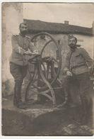 Photo Guerre 1914 1918  2 Chasseurs à Cheval  Gimécourt Meuse Novembre 1914 - 1914-18