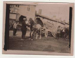 Photo Guerre 1914 1918  Accident De Cahrriot Attelage Cheval - 1914-18