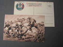 Wohlfahrts - Karte 1914 - Weltkrieg 1914-18