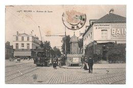 - CPA REIMS (51) - Avenue De Laon (CAFÉ RESTAURANT H. DEFFAUX - ETABLISSEMENTS GOULET-TURPIN) - - Reims