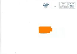 EMA MM 116939 Savoie + Flamme 50 Ans Freundschaft Amitié Pistenbully Dameuse Neige Albertville Ski - Marcofilia (sobres)