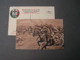 Wohlfahrts - Karte 1914  Sign Kurt Schulz Steglitz - Weltkrieg 1914-18