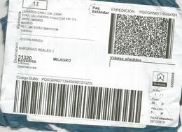 MADRID ETIQUETA LABEL PAQ ESTANDAR ELECTRONIC CODE - 1931-Hoy: 2ª República - ... Juan Carlos I