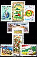 Siria-00148 - Valori Del 1996-97 (o) Used - Senza Difetti Occulti. - Siria