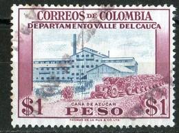1956 Cauca Valley Sugar Cane   N°526    Fold - Colombie