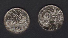 Romania 2014 / 50 Bani / Vladislav I Vlaicu / UNC - Romania