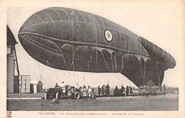 Toulouse 53e Demi Brigade D'Aérostation - Manoeuvre Du Ballon 1935 - Dirigeables
