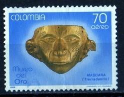 1982 Museo Del Oro  Masque Civilisation Préinca  70c PA - Colombie