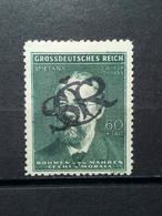 Böhme Und Mähren Aufdruck CSR Mi-Nr.138** MNH Postfrisch - Ongebruikt