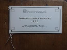 REPUBBLICA - Libretto Ufficiale Anno Santo 1983 Con Serie Nuova ** + Spese Postali - 1946-.. République