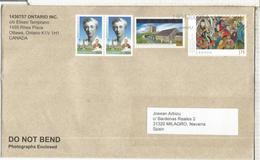 CANADA CC SELLOS SIGNAL HILL TELECOM ARTE MODERNO PINTURA - 1952-.... Reinado De Elizabeth II