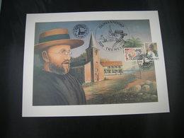 "BELG.1995 FDC A4 (Tremelo/Keerbergen):""Geïllustreerde Tekening Zaligverklaring Pater Damiaan/Béatifacion Du Pére Damien"" - 1991-00"
