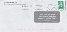 FRANCE  MARIANNE L'ENGAGEE VARIETE DE PIQUAGE - 2018-... Marianne L'Engagée