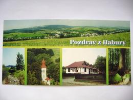 Slovakia - Habura (Medzilaborce County) - General View, Church, Restaurant - 2000, Used - Slovacchia