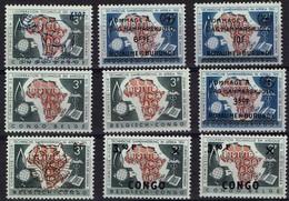 Kongo Congo - Burundi - Kasai - Los * - Europe (Other)