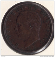 PORTUGAL LOT 2 X 10 REIS 1883 - 1891 LUIZ I REI DE PORTUGAL - Portugal
