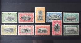 Belgian Congo - COB 54/63 - SCOTT 45/59 - 1910 - Mols & Van Engelen - MNH - Belgian Congo