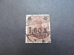 DR Nr. 154IIa, 1921, Gestempelt, BPP Geprüft BS - Used Stamps