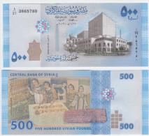Syria P 115 - 500 Pounds 2013 - UNC - Syrien