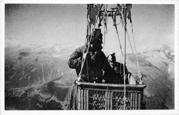 SERIE : C - N° 2 - LA TRAVERSEE DES ALPES - Miirren 1962 - Montgolfières