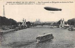 """Une Promenade En Dirigeable Au-dessus De Paris 68 Le Raid Du CLEMENT-BAYARD Du I"""" Novembre 1908. - Dirigibili"""