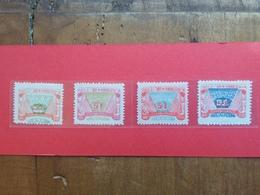 CINA (4) 1949- 4 Valori Nuovi + Spese Postali - 1912-1949 Repubblica