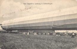 Graf Zeppelin's Landung In Echterdingen - Dirigeables