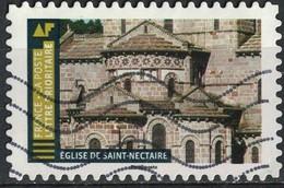 France 2019 Oblitéré Used Histoire De Styles Architecture Eglise De Saint Nectaire - 2010-.. Matasellados
