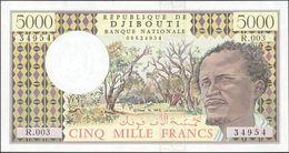 TWN - DJIBOUTI 38d - 5000 5.000 Francs 2002 Series R.003 UNC - Gibuti