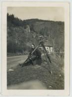 """Géomètre . """"Souvenir D'opérations Topographiques . Nivellement De La RN 89 à St-Thurin (Loire) . 1937"""" . - Professions"""