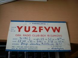 Yugoslavia Radio Club Djakovo - Radio Amateur