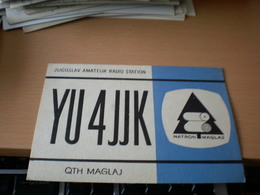 Yugoslavia Radio Club Natron Maglaj - Radio Amateur