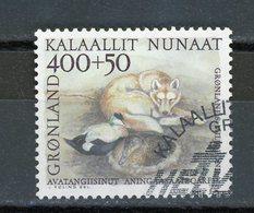GROENLAND - NATURE - N° Yvert 196 Obli. - Groenland