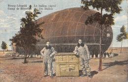 Bourg-Léopold Le Ballon Captif Camp De Béverloo 1930 - Dirigeables