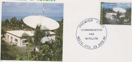 WALLIS ET FUTUNA 1 Env FDC Premier Jour N°464 - 23 Juin 94 - Communication Par Satellites - FDC