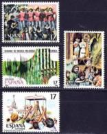 España. Spain. 1986. Fiesta Populares. Carnaval. Cadiz. Semana Musica. Cuenca. Rocio. Huelva. Misterio De Elche - 1981-90 Nuevos & Fijasellos