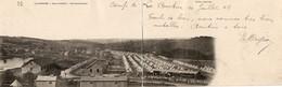 La Courtine   Vue Panoramique Du Camp....1906 - La Courtine